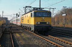 NS lok 1312 from NSM with IC 145 (Schiphol Airport - Berlin Ostbf). Bad Bentheim. #dutch #trains #ns
