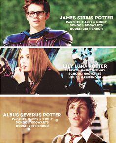 Alvo Severo Potter foi paraa sonserina