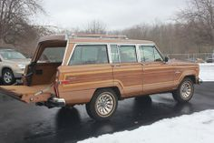 1986 Grand Wagoneer This almost exactly the one I drove in high school
