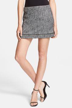 Nell Tweed Miniskirt by Rebecca Minkoff on @HauteLook