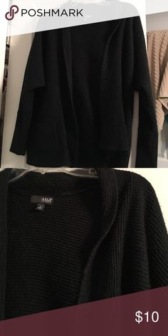 Black cardigan Very soft and warm open knit cardigan from a.n.a a.n.a Sweaters Cardigans