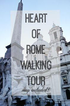 Perfect Heart of Rome walk, especially at night! #italytravel