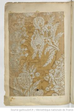 Etoffes de Lyon // 1736 : [échantillons de tissus] - 7