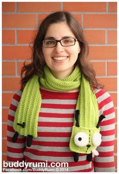 (4) Name: 'Crocheting : Gir Scarf