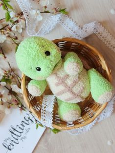 Easy crochet patterns amigurumi animals and more by ToysByKnitFriends Crochet Toys Patterns, Amigurumi Patterns, Stuffed Toys Patterns, Knitting Patterns, Knitting Ideas, Loom Knitting, Crochet Turtle, Turtle Pattern, Crochet Amigurumi
