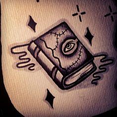 hocus pocus book tattoo - Google Search