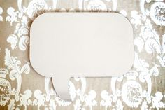 Speech Bubble Mirror by Rumours of Ribbons on hellopretty.co.za