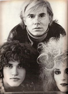 Warhol, Jay Johnson,  Candy Darling  US VOGUE (March, 1970)