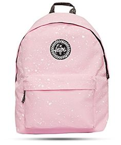 Hype Backpack | Unisex Rucksack Designer School Shoulder Bag | Just Hype Speckle Bags (One Size, Baby Pink Speckle) Hype http://www.amazon.co.uk/dp/B0180PG6R2/ref=cm_sw_r_pi_dp_nKB9wb0GW16A3