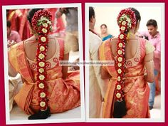 You can find the best wedding photographers, top wedding makeup artists, finest wedding decorators, top wedding planners, bridal stylists & affordable jewellery rentals South Indian Wedding Hairstyles, Wedding Braids, Wedding Makeup Artist, Best Wedding Photographers, Indian Outfits, Stylists, Bride, Clothes, Dresses