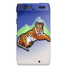 The Tiger Motorola Droid RAZR Case