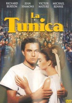 La Tunica, il primo film girato in CinemaScope nel 1953 si è candidato a ben cinque premi Oscar, tra cui quelli per il miglior Film e quello per il migliore Attore Protagonista a Richard Burton...