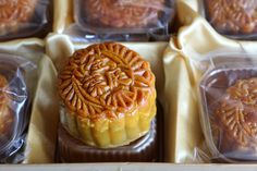 The Golden Leaf at Conrad Hong Kong offers a beautifully packaged assortment of moon cakes to celebrate the Moon Festival.