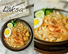 Indonesia Laksa | Bunda Nadine Laksa, No Cook Desserts, Indonesian Food, South Pacific, Borneo, Ubud, Cooking Tips, Philippines, Singapore