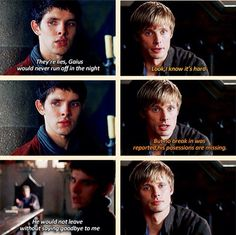 This scene is so emotional it just shows how much Gaius meant to Merlin.