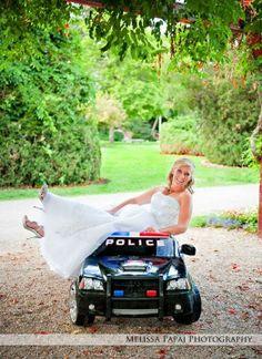 Cop Wedding