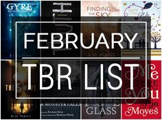 FEBRUARY 2016 TO-BE-READ LIST. #books #book #reads #reading #toberead #bookblog #bookblogger
