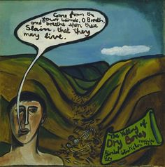 The valley of dry bones - McCahon, Colin