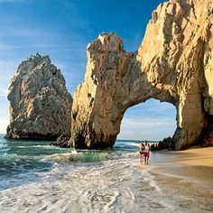 lovers beach and the arch los cabos mexico