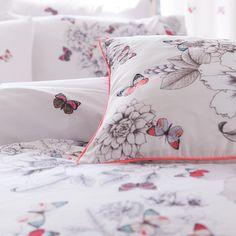 Accessorize White floral butterfly bedding set - Bedding - Debenhams.com