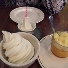 Photo of Sarma - Somerville, MA, United States. Frozen yogurt with Mango curd and pineapple granita