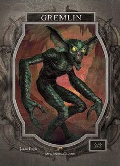 Gremlin Token for MTG (Jason Engle)