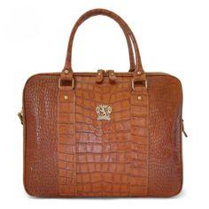 Pratesi,Magliano King,professional leather bag,handbag with shoulder... via Polyvore featuring bags, leather bags, genuine leather bags, genuine leather laptop bag, pratesi и zipper bag