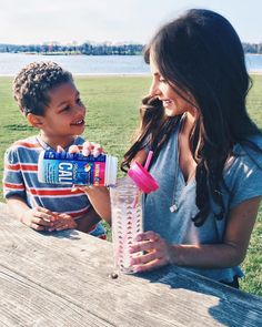 """""""Love when Trey's on break! 💕💙 It's so great to relax with my little man 🤗 Recently I did some research about magnesium deficiency & came across @naturalvitalityofficial #NaturalCalm . Did you know about 80% of us don't get enough magnesium?! This yummy lemon & raspberry flavored powder I add to my water 💦🍋 promotes healthy levels of magnesium reducing fatigue, stress, inability to sleep, muscle tension, cramps, anxiousness and nervousness, headaches, and more. #stressfreemommy…"""