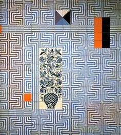 Tiling in the Restauradores Metro station in Lisbon, Portugal. Maria Keil Keil designed the interiors of 19 Lisbon tube stations between 1955 and Portuguese Tiles, 3d Drawings, Metro Station, Textile Patterns, Mosaic Tiles, Tiling, Abstract Pattern, Art And Architecture, Paper