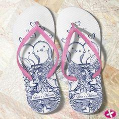8a1132d43 A @rosa_pittanga faz chinelos personalizados e divinos pra presentear a  mulherada