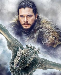 Game of Thrones [SPOILERS] Another breathtaking piece of art by Vera Adxer Game Of Thrones Wallpaper, Game Of Thrones Artwork, Game Of Thrones Poster, Game Of Thrones Facts, Game Of Thrones Dragons, Got Game Of Thrones, Game Of Thrones Quotes, Game Of Thrones Funny, Scott Campbell