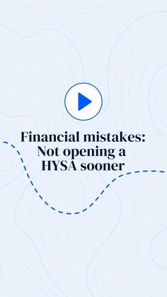 bankrate on Instagram: We just have one ask: learn from our mistakes. Not only is it super easy to open a high-yield savings account, but it's also a great way… High Yield Savings Account, Savings Accounts, Mistakes, Super Easy, Accounting, Audio, Learning, Instagram, Studying