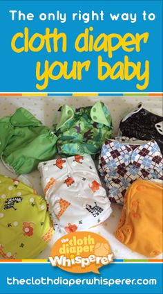 The Cloth Diaper Whisperer: The Only Right Way to Cloth Diaper Your Baby