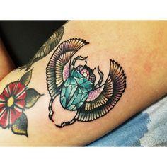 LAUREN HF tattoo winged beetle