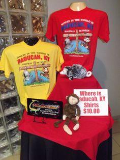 Where in the world is Paducah KY? Shirts Hultman Screen Printing!