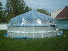 Picture of Soft-Side Pool Domes - Rectangle