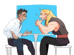 Thor and bruce