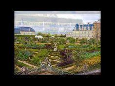The Chateau Villandry Gardens - YouTube