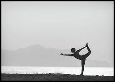 Yoga by the water, julisteet ryhmässä Julisteet @ Desenio AB (8408)