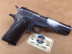 "#WWI #Colt #1911 US #Military 1915 .45 5"" | Victory Guns & Guitar Works, LLC"