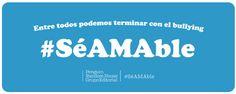 """Campaña #SéAMAble  El día 2 de mayo es el día mundial en contra del bullying  A qué llamamos """"bullying""""? Al acoso físico verbal o social al que someten a un alumno sus compañeros de escuela por un tiempo indeterminado también llamado violencia silenciosa. En Argentina hay bullying? Por supuesto es una de las grandes problemáticas que enfrentamos en las escuelas: 1 de cada 4 chicos le tiene miedo a un compañero.  Desde Editorial Penguin Random House surgió la Campaña#SéAMAble que inspirada en…"""
