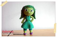 Disgust Inside Out Free Amigurumi Pattern