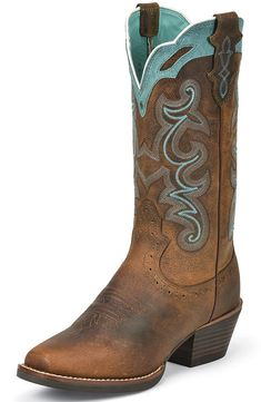 The new stylish justin boots for women justin boots for women justin womens silver collection cowboy boots - rugged tan buffalo QCDPZHD Botas Western, Western Boots, Country Boots, Justin Boots, Cowboy Boots Women, Cowgirl Boots, Ladies Boots, Pretty In Pink, Chapeau Cowboy