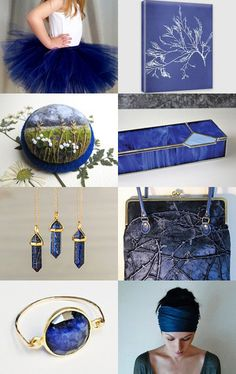 Intense blue by Fatima Tsagolti on Etsy--Pinned with TreasuryPin.com