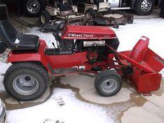 Pin On Wheel Horse Tractors