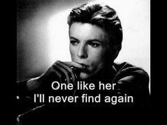 David Bowie - Ragazzo Solo, Ragazza Sola - english lyrics (Lonely Boy, Lonely Girl)