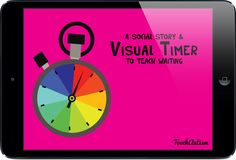 Visual Timer And Social Story About Waiting