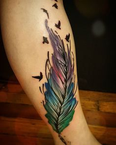 This is for Jason. I have an appt Sat 4:00. This is the tattoo I want #1 but the feather in colors of tattoo #2. If you have questions, please call or text 410_991_0247.thanks Lynn McDowell