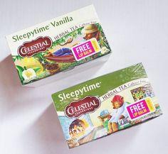 Review: Celestial Seasonings Lip Balms in Sleepytime and Sleepytime Vanilla