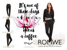 """romwe"" by maida-salanovic ❤ liked on Polyvore featuring Lancôme"